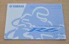 YAMAHA R6 YZF-R6 Manual del Propietario Spanisch Bedienungsanleitung Motorrad
