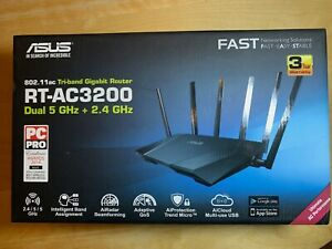 ASUS RT-AC3200 1750 Mbps Gigabit Wireless AC Router, perfect condition