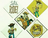 Toy Story Patches Iron on Disney Patch Fabric Applique motifs. Set of Iron on