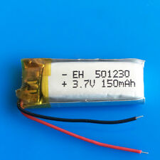 3.7V 150mAh Li Po polymer Battery for MP3 GPS Headset Bluetooth Video Pen 501230