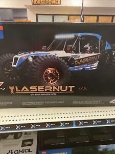 Lasernut U4 1/10 4wd Rock Racer RTR Blue Los03028T1 Losi Rtr New In Box