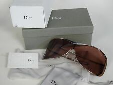 482d85c26b5c CHRISTIAN DIOR DIOR RAGGA1 KJ4 115 SHIELD SUNGLASSES w  BOX   MADE IN ITALY
