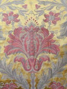 Roll End Christmas Costume Gold Princess King Jacquard Luxury Fabric Cloth K7//S3