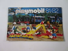 "PLAYMOBIL- ""DIFICILISIMO CATALOGO PLAYMOBIL 1981-1982 BUEN ESTADO"" - LUJO!"