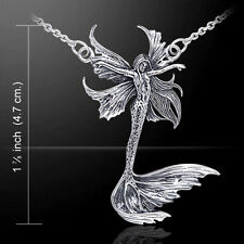 Amy Brown Sea Sprite Fairy .925 Sterling Silver Necklace by Peter Stone