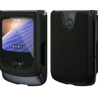 Official Motorola Leather Case for Razr (5G) 2020 - Black -Genuine Original BNIB