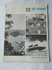 Original Air West Magazine-July 1964