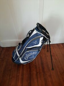 Callaway Golf Stand Carry Golf Bag with Raincover & 6 zipped pockets.