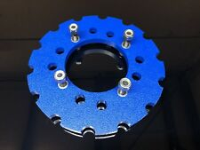 B.C.C Skids Blue  Ltr 450 Poly Sprocket Guard Protector 1/2 Bolts Nuts Universal