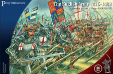 Agincourt English Army 1415-1429 - 28mm figures x36 Perry AO40 - free post