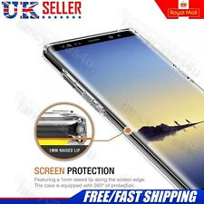 360° Protection Full Protection Front Back Clear Case For Samsung Galaxy Note 8