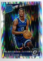 2018-19 Panini Donruss Optic Rated Rookie Shock Prizm Jaren Jackson Jr. RC #188