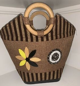 African Bag/Handmade/Tote With Masai Beads