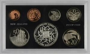 New Zealand - 1974 - Annual Proof Coin Set - Commonwealth Games