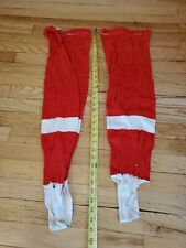 Vintage Red Bauer Hockey Socks