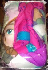 DISNEY FROZEN TWIN-FULL COMFORTER Hot Pink Princess Anna Elsa Justice Blanket