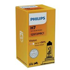 1x H7 PHILIPS Vision 12V Headlamp PX26d +30% More Light 12972PRC1