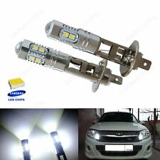 2x H1 10 SMD 2835 White 6000k SAMSUNG LED Headlight High Main Beam Daytime Light