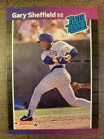 1989 DONRUSS GARY SHEFFIELD #31 RATED ROOKIE RC -Milwaukee Brewers BASEBALL CARD