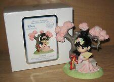 Precious Moments Disney Showcase Mulan A Blossom Is Never Too Late To Bloom