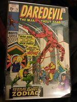 Daredevil #73 VF Condition Marvel Comics 1964 Series (The Zodiac)