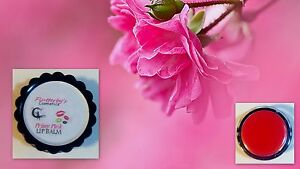 PRISSY PINK: 100% Pure Natural Organic Pink Lip Balm Pot Gloss Stick 5 g jar