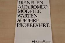 177106) Alfa Romeo Alfa 6 Alfetta GTV Spider Sprint Prospekt 09/1979