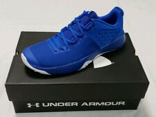 UNDER ARMOUR Bam Trainer Team Bank Men's Athletic Shoes Blue/White Size 11