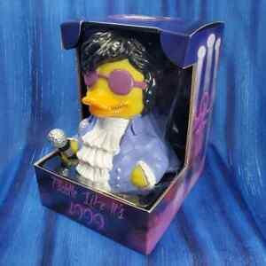 Paddle Like it's 1999 CelebriDuck Rubber Duck NIB Prince fans 80s Purple Rain