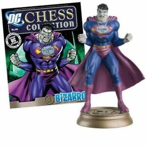 DC CHESS FIGURE BIZZARO #44 in BOX & MAGAZINE DC COMICS EAGLEMOSS