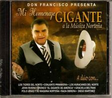 Don Francisco, Mi Homenaje Gigante a La Musica Nortena - CD