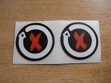 2x Jorge Lorenzo Helmet Decals / stickers 75mm