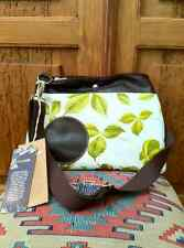 Amazon Life by Francesco Biasia Treetap Fabric/Rubber Shoulder/Crossbody Bag NWT