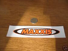 MAXXIS TIRE Bicycle Mountain BIKE FRAME  STICKER DECAL
