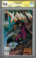 Uncanny X-Men #266 CGC 9.6 NM+ SS 5x STAN LEE 1st full app of GAMBIT MYSTIQUE
