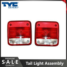 TYC Pair Tail Light Assembly Left Right For 1985-1995 Chevrolet G20 KA05