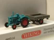 Wiking Hanomag R16, Traktor mit Anhänger - 0953 04 - 1:160