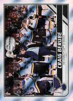 2019-20 Topps NHL Stickers Hockey #608 St. Louis Blues Stanley Cup Finals FOIL