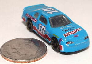 Very Small Racing Champs Die Cast NASCAR Race Car in Blue marked Channellock #10