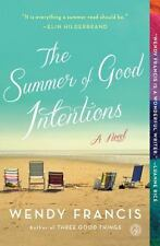 The Summer of Good Intentions by Wendy Francis Paperback Book (English)
