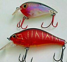 VINTAGE FISHING LURES Wobbler STORM Crank / River2sea Cranky M Lot of 2 items