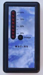 Füllstandsanzeige WST-RS, Wasserstand Anzeige