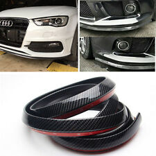 Carbon Fiber 2.5M Front Bumper Chin Protection Side Skirts Spoiler Lip