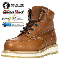 ROCKROOSTER Men's Work Boots Composite Toecap Anti-puncture Safety Boots
