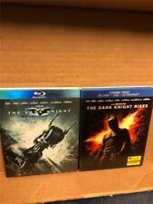 The Dark Knight and The Dark Knight Rises Blu Ray Lot