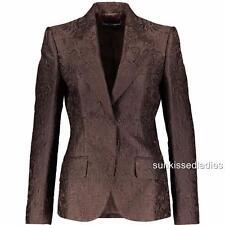 Dolce & Gabbana Floral Jacquard blazer Jacket IT42 UK10 RRP1800GBP