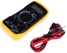 LCD Digital Multimeter Multitester Resistance Meter Voltmeter Ammeter Ohmmeter