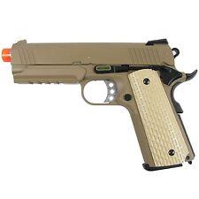 WE Tech GBB-413TW 4.3 S-Type Desert Warrior 1911 Gas Blowback Airsoft Pistol Tan