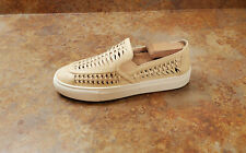New! Tory Burch 'Huarache 2' Slip-On Leather Sneakers Blush Womens 5 M MSRP $228