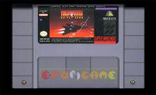 TURN AND BURN NO FLY ZONE Super Nintendo SNES Vers Americana NTSC ○ CARTUCCIA